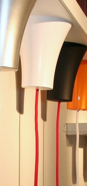 Dezall lamptops - Tjus vit matt