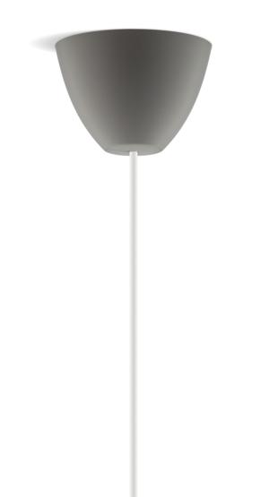 Dezall lamptops - Round antracitgrå