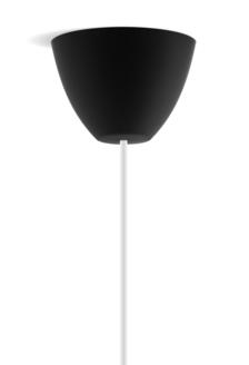 Dezall lamptops - Round svart matt